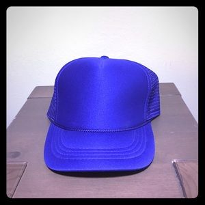 Other - Plain Trucker Hat Royal Blue OS
