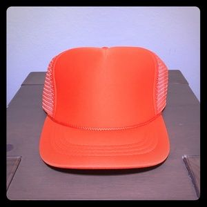 Other - Plain Trucker Hat Orange OS