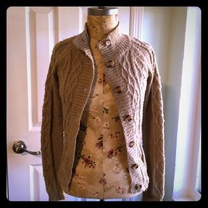 kersh Sweaters - kersh cable knit cardigan