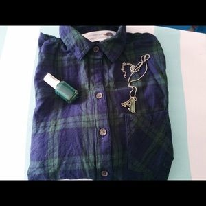 Old Navy Tops - 🌟SALE🌟Be My Boyfriend Flannel