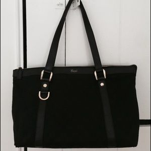 Gucci Handbags - Authentic black Gucci monogram purse
