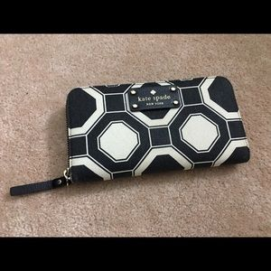 Kate Spade Fabric Lacey Wallet