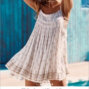 Free People One Imperial Pintuck Dress