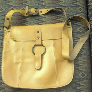 Gap leather crossbody bag
