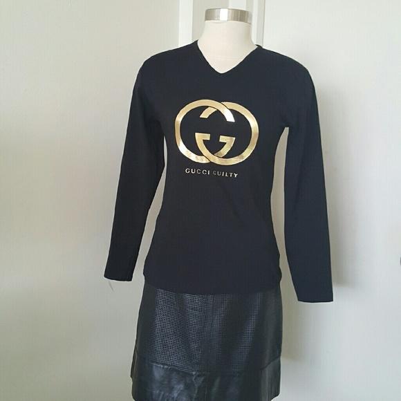 649badb0b2 GUCCI GUILTY Black T-shirt.
