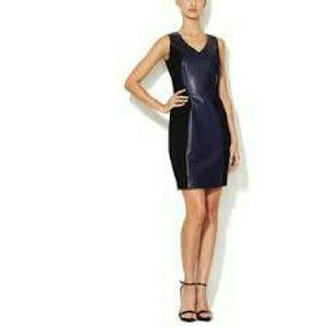 Reny Dresses & Skirts - Leather Ponte Dress NWOT