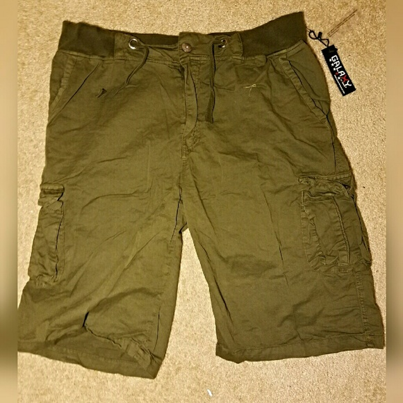 8c94f72552 Galaxy by Harvic Shorts | Nwt Galaxy By Harvest Mens Cargo | Poshmark