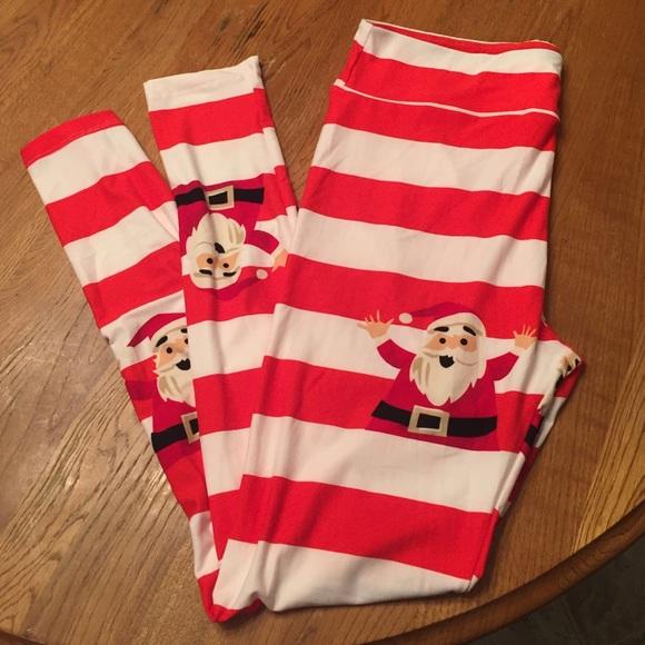 lularoe tc 2016 holiday christmas leggings