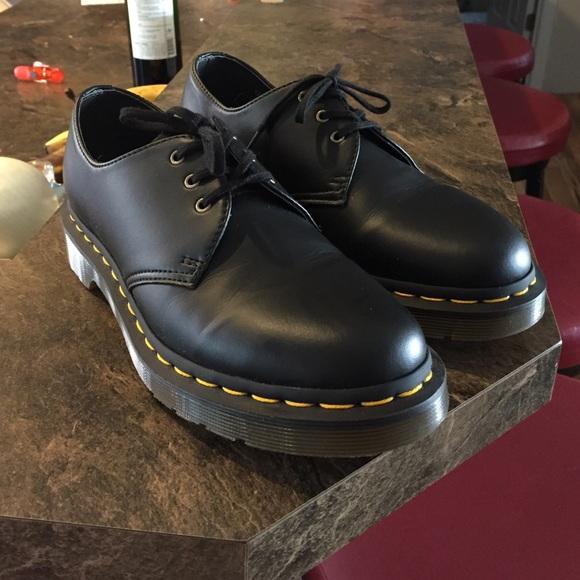 17 off dr martens shoes doc marten 1461 vegan leather. Black Bedroom Furniture Sets. Home Design Ideas