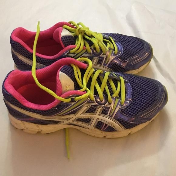 asics shoes girls size 5
