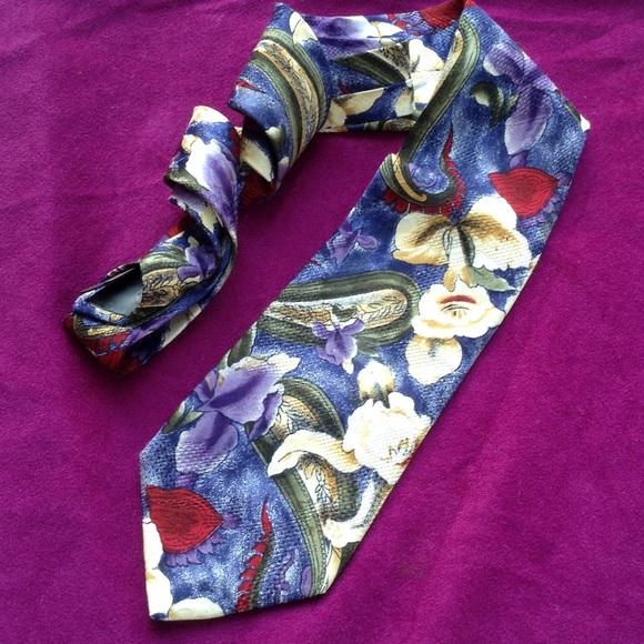 Robert Talbott Other - Robert Talbot NORDSTROM Bold Paisley Floral Tie