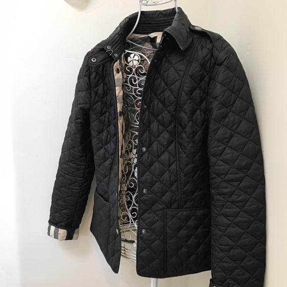f323db27d7b3b Burberry Jackets   Blazers - Burberry Brit Kencott Black Quilted Jacket XS
