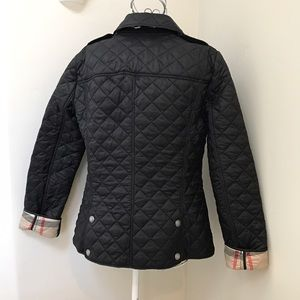 5c3727947b2dc Burberry Jackets   Coats - Burberry Brit Kencott Black Quilted Jacket XS