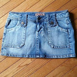 Paris Blues Denim - Jean skirt