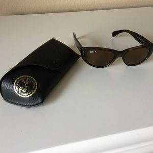 Ray-Ban Accessories - Ray Ban Polarized Vagabond Sunglasses