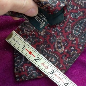 Vintage Accessories - Cool Cat Patric James Vintage Paisley Holiday  Tie