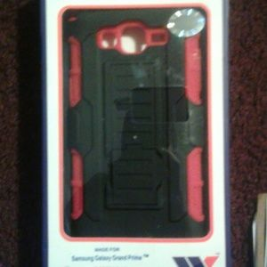 Wow Samsung Galaxy Grand Prime  Other - Rugged w/Holster Phone Case