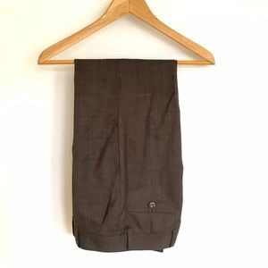 Other - Brown Wool Dress Pants - 29 x 27 ⭐️ NWOT