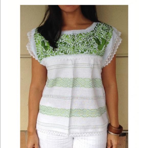 embroidered blouses blouses flower blouse loom blouse, Frida Kahlo blouse Handmade blouse