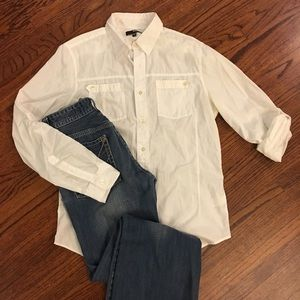 Murano Other - Murano Fitted Button Down Shirt
