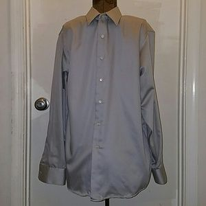 Geoffrey Beene Other - Geoffrey Beene tan dress shirt size 34/35 neck 16