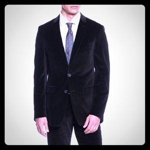Donna Karan DKNY Men's Velvet Blazer, 44R