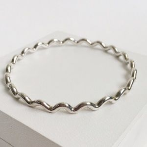 Tiffany & Co. Jewelry - Tiffanys Paloma Picasso Zig Zag Silver Bracelet