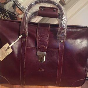 Handbags - HOST PICK Cenzio Leather Weekender Bag