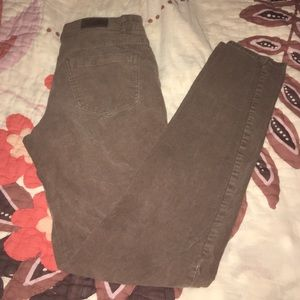 H & M brown corduroy pants size 8