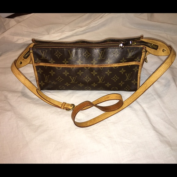 d3f38edf8c6f Louis Vuitton Handbags - Auth Louis Vuitton Popincourt long crossbody bag