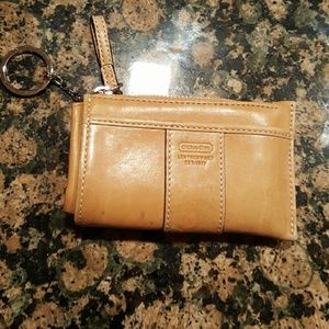 Coach Accessories - Authentic Coach coin key/card holder
