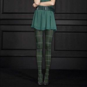 Accessories - Tartan plaid tights