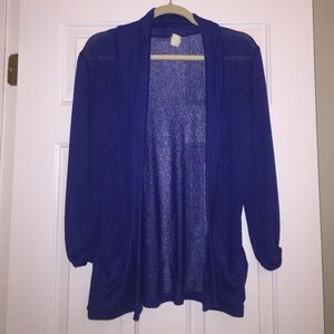 Urban Outfitters blue cardigan
