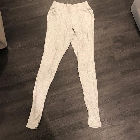 7066efed01b6c ALO Yoga Pants - Gray Alo Yoga Yen Sweatpants