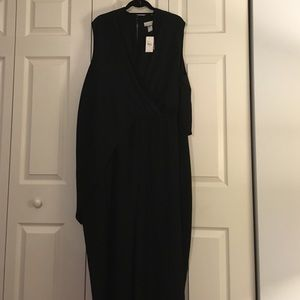 Lane Bryant Lane Collection Jumpsuit with Drape
