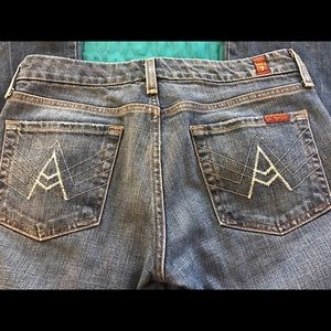 "7FAM ""A pocket"" jeans"