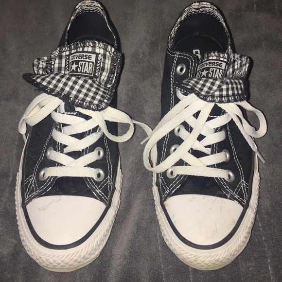 c2c20b284b4b Converse Shoes - chuck Taylor all star double tongue plaid speakers