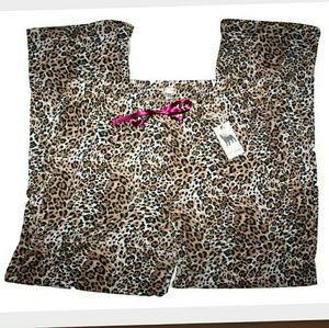 PJ Salvage Other - PJ Salvage Leopard Print Lounge Pant