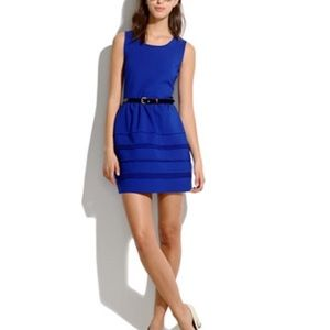 Madewell Silhouette Dress Noble Blue