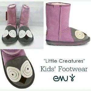 Emu Other - EMU Australia Little Creatures Owl toddler boots