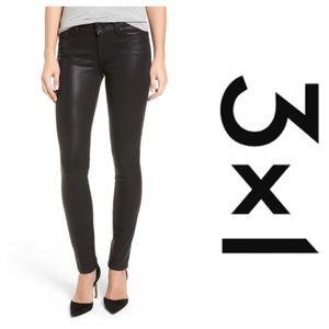 3x1 Denim - 3x1 Coated Skinny Jeans