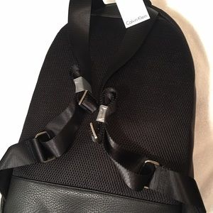 Calvin Klein Bags - Calvin Klein athletic nylon leather backpack 52f051d00f7a1