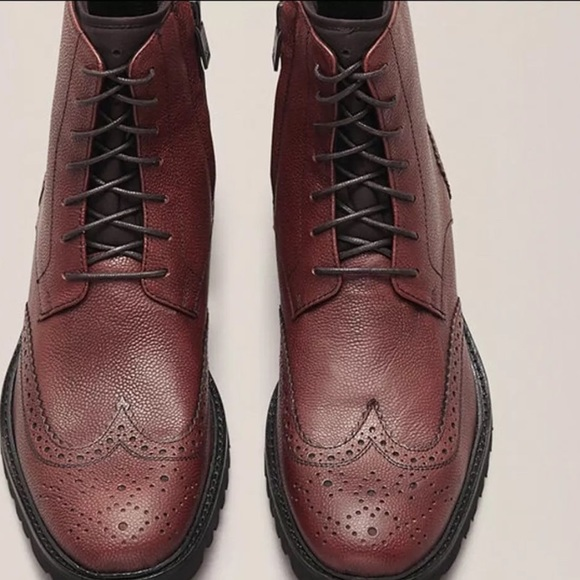 Kenneth Cole New York Wingtip Boots