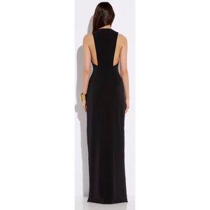 43676df18a AQ AQ Dresses - AQ AQ Black Double High Slit Maxi Dress