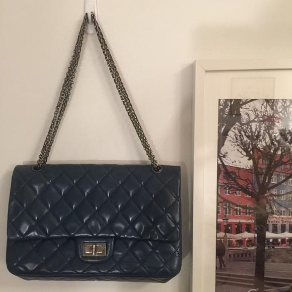 7d027323beb1 Select Size to Continue. M_5836e0a06d64bcf60f02b844. Chanel 2.55 Reissue  Size 225 Bag ...