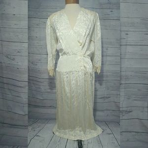 Dresses & Skirts - Gorgeous Vintage 1920's Style Lace Holiday Dress