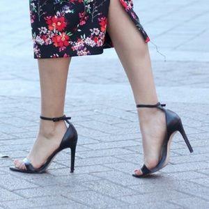 Zara Shoes - ZARA Ankle Strap Heels