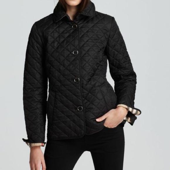 38% off Burberry Jackets & Blazers - Burberry Brit Copford Quilted ... : burberry brit copford quilted jacket black - Adamdwight.com
