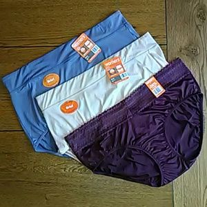 No Pinch Plus Size Panties Bundle Pack