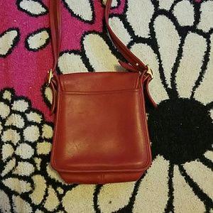 Coach Bags - Red Coach Crossbody